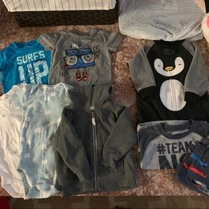Baby boy bundle 12 months